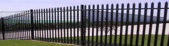 Steel Palisade Fencing Contractor