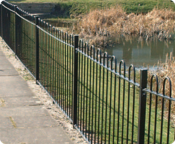 Bow Top Railing Fencing